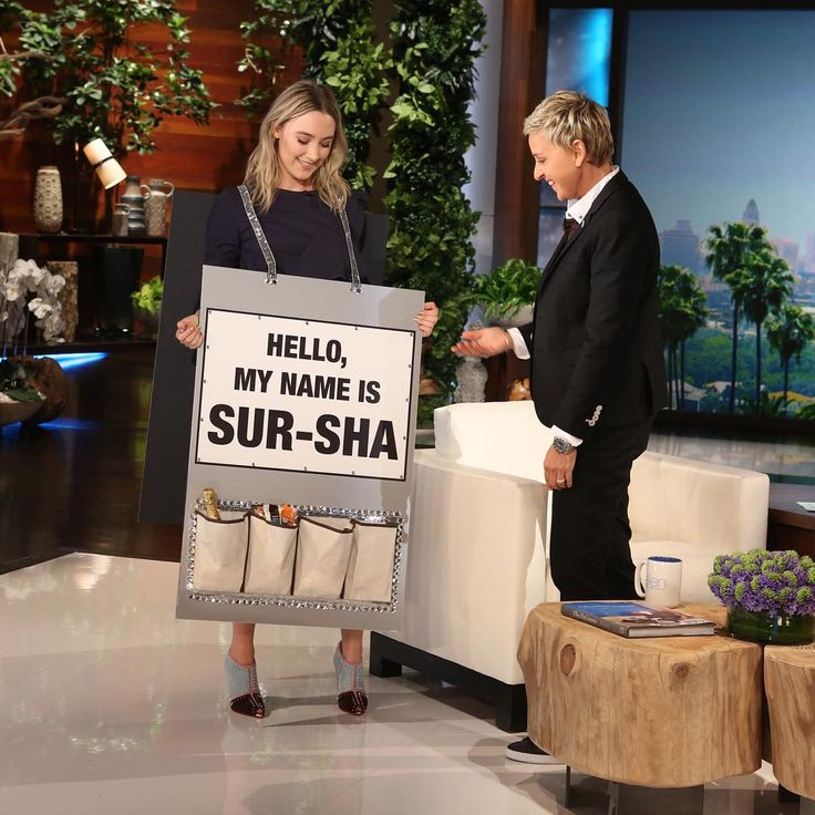 Saoirse Ronan Reminds Everyone How to Pronounce Her Name, With Help From Ellen