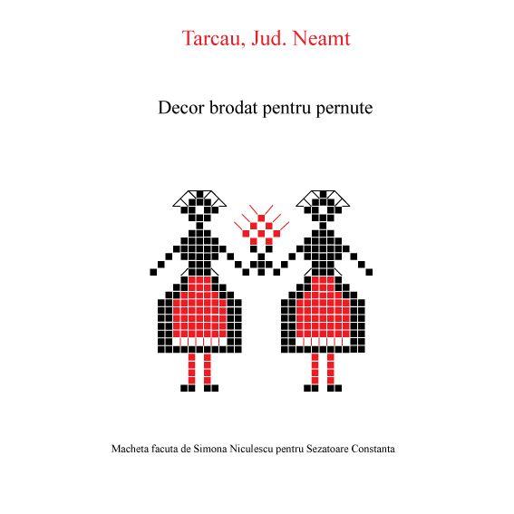 "Macheta facuta dupa cartea ""Broderii traditionale si artizanale Moldovenesti"" de Elena Nita Ibrian si Nicolae Dunare. Macheta"