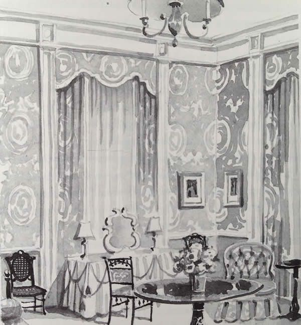 The Queens Sitting Room In White House Designed By Jackie Kennedy And S