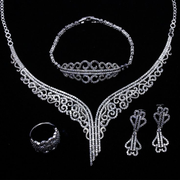 Cheap Bridal Jewelry Sets Gold Buy Quality Directly From China Wedding Suppliers Set Color White AAA CZ