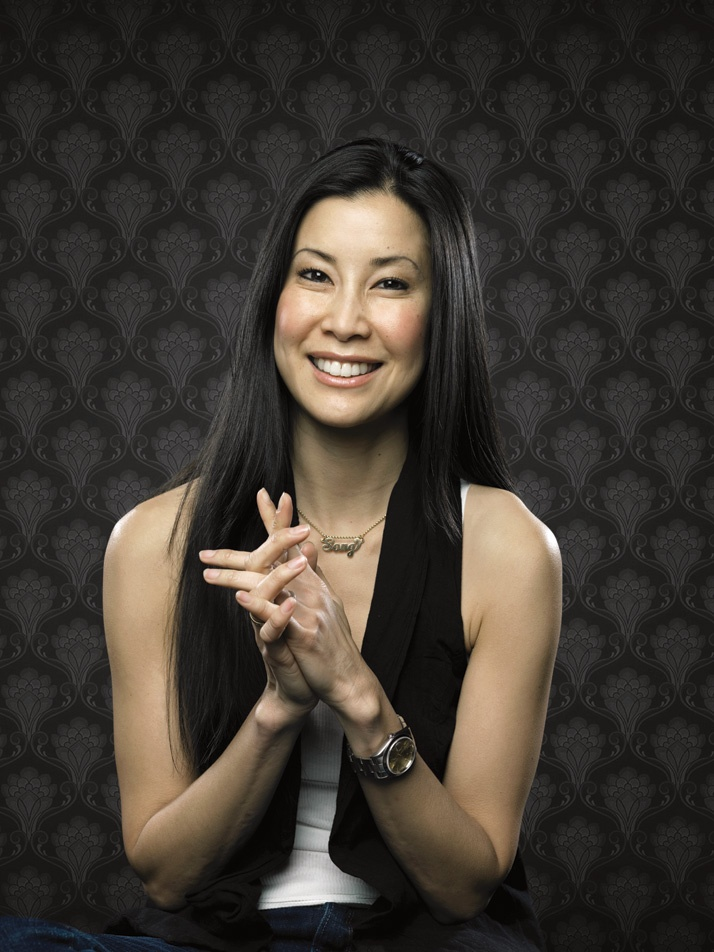 lisa ling . amazing journalist. would follow her anywhere