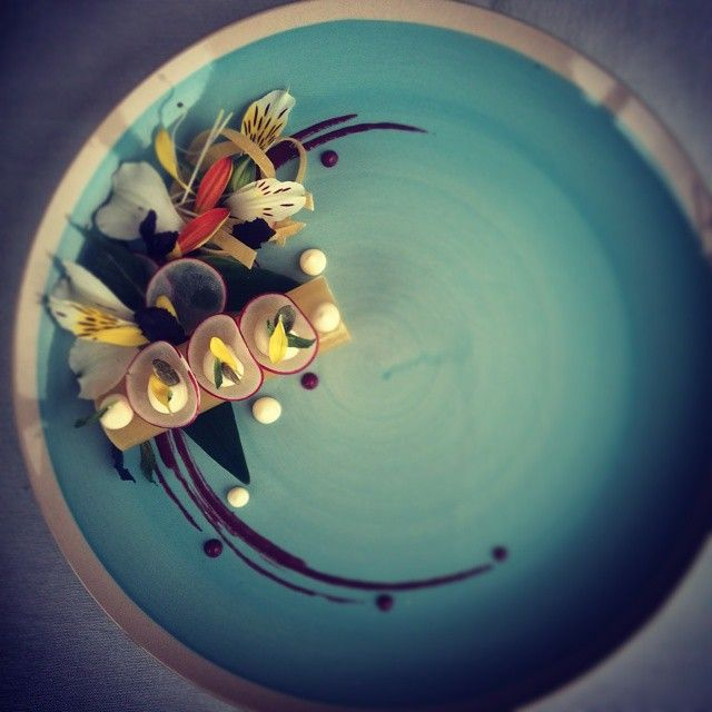 by Chef Margaryan on IG #plating #gastronomy