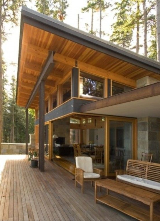 Skillion roof deck open renovate pinterest shed for Skillion roof house designs