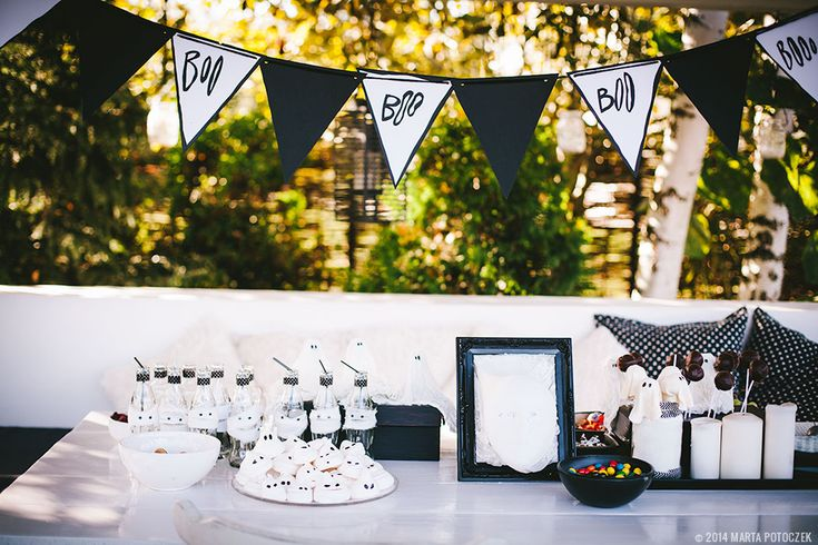 Ghost hunting birthday party