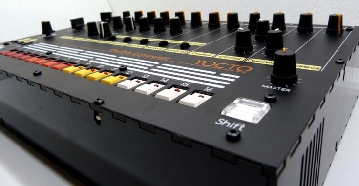 Build Your Own Roland TR-808 Drum Machine Clone - The YOCTO