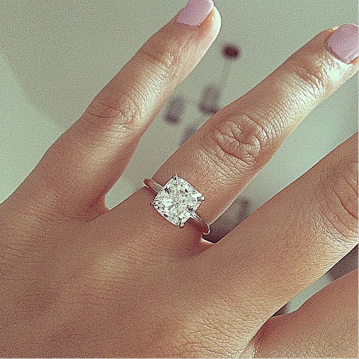 best 25 cushion cut engagement ideas on