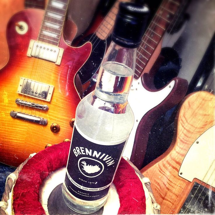 Jammin' with Brennivin, the Original Icelandic Spirit.