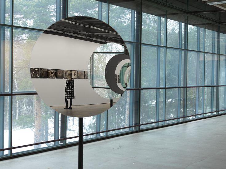 Touch/saastamoinen foundation art collection exhibition at EMMA. Olafur Eliasson/ Pentagonal landscape.