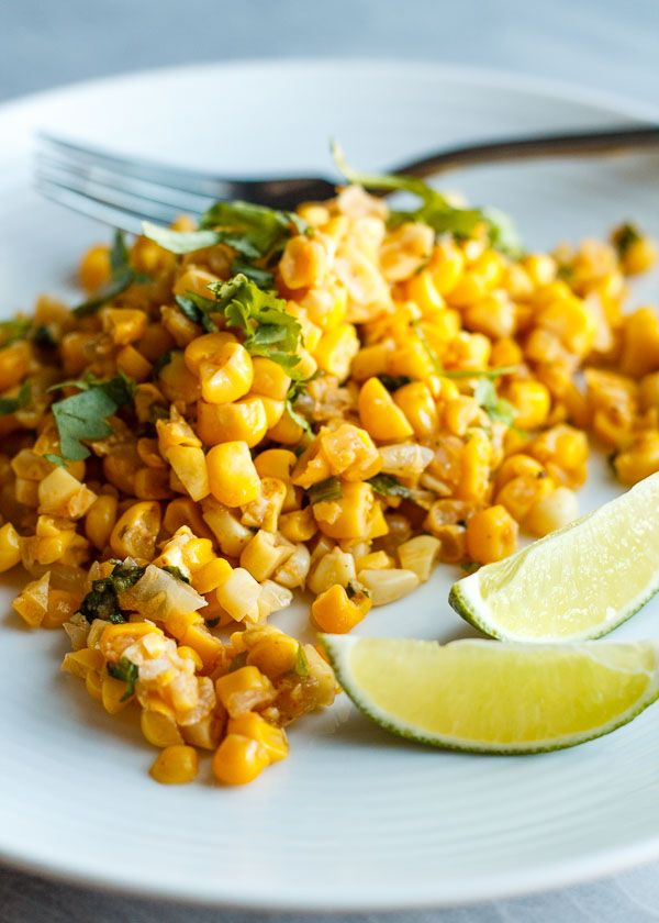 Corn off the Cob with Butter, Lime, & Ancho Chili + How to Strip an Ear of Corn the Tidy Way | Super Nummy Yo!