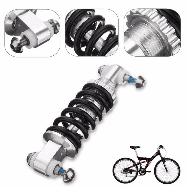 B95 Black Metal 450LBS/in Rear Suspension Shock Damper Cycling Bicycle Bike Parts  Worldwide delivery. Original best quality product for 70% of it's real price. Buying this product is extra profitable, because we have good production source. 1 day products dispatch from warehouse. Fast...