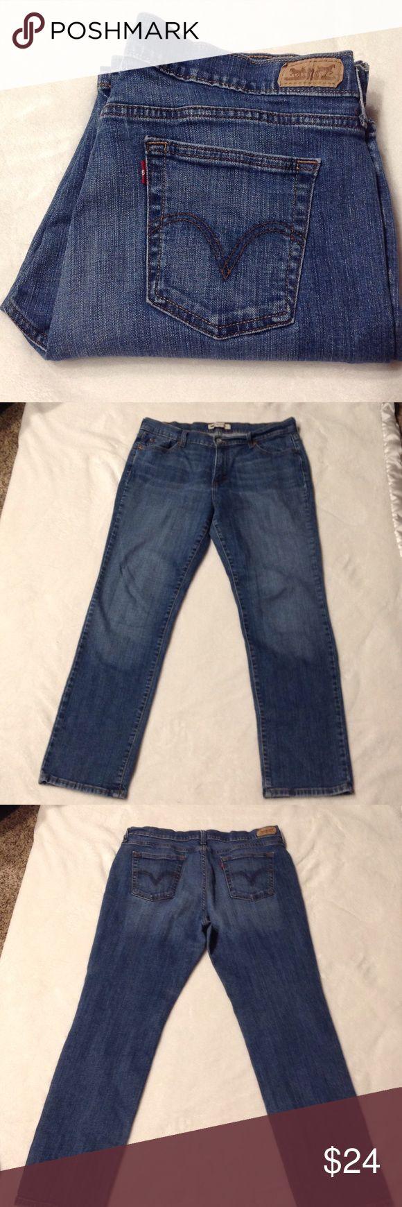 Levi 505 Straight Leg Jeans Levi's 505 straight leg jeans inseam 31 red label Levi's Jeans Straight Leg