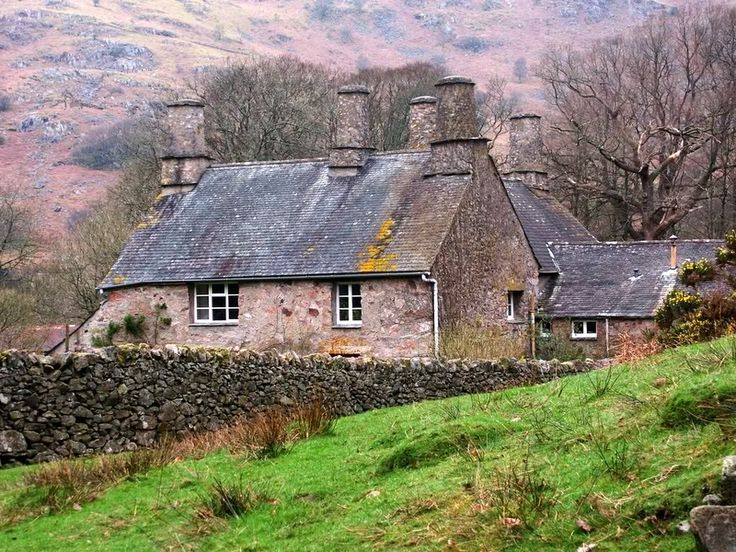1187 best england scotland wales ireland images on for Scottish country cottages
