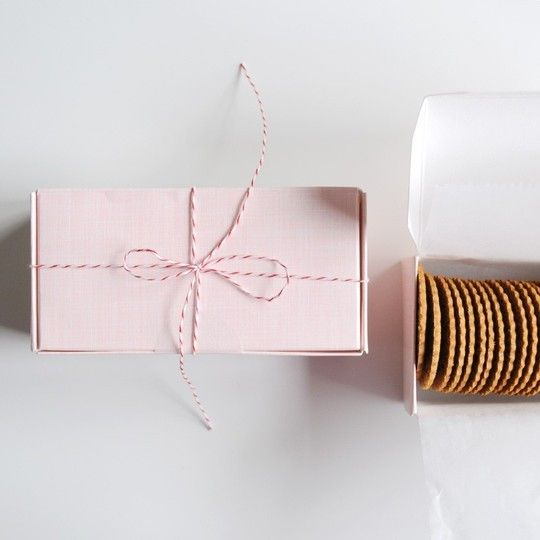 simple but pretty packaging