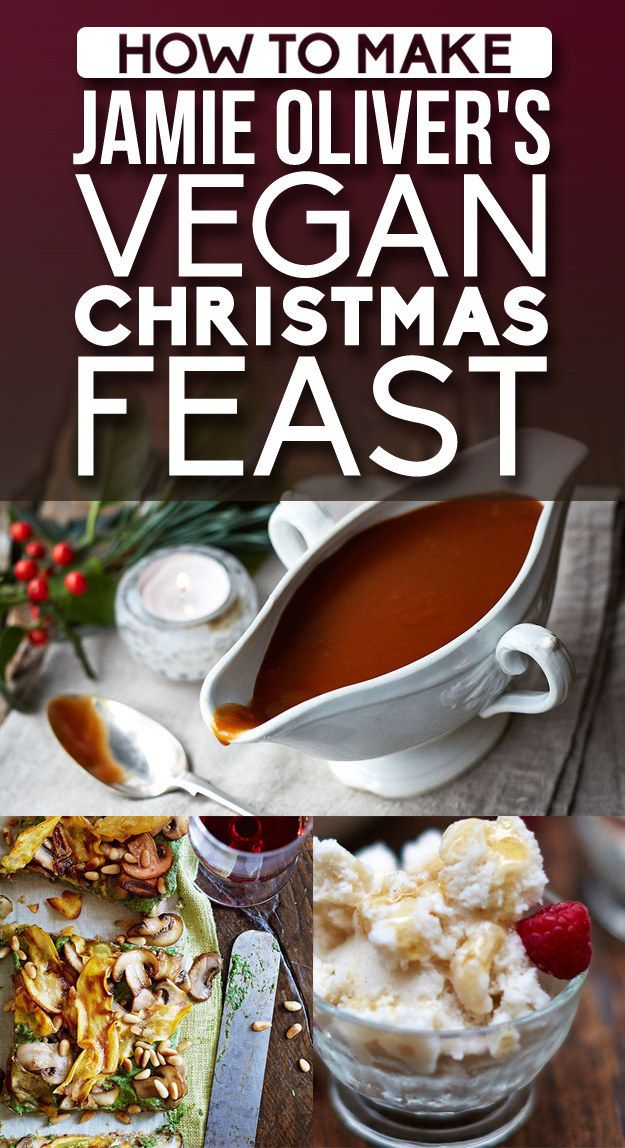 Mouthwatering vegan Christmas recipes, exclusively curated by Jamie Oliver for BuzzFeed Life.