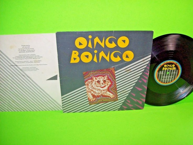"Oingo Boingo ‎– Only A Lad + 3 Vintage 1980 Vinyl 10"" EP Record Quirky New Wave #1980sElectroSynthNewWavePopRock"