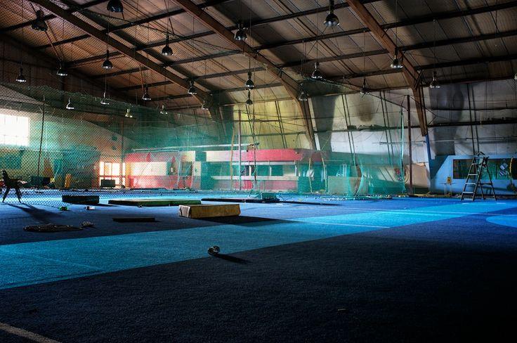 Abandoned Car In Swamp Wallpaper Abandoned Indoor Cricket Arena In Ipswich Indoor