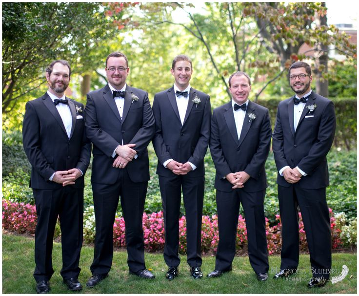 Groomsmen   Outdoor Wedding   DC Wedding   Magnolia Bluebird   Real Wedding   Meridian House   Washington D.C.