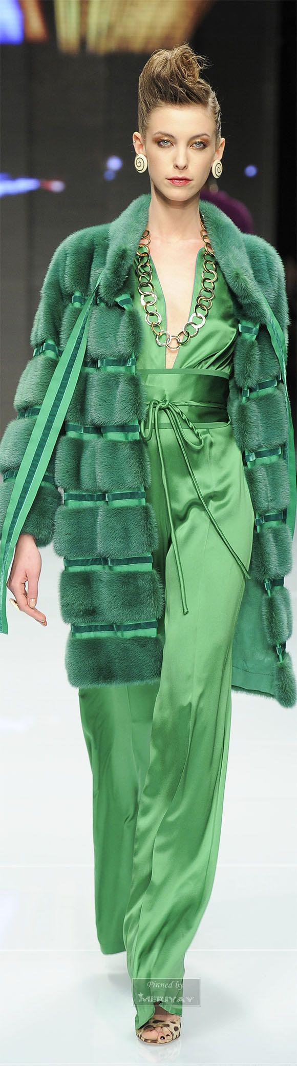 Green lipstick: manifested and fashionable green ideas