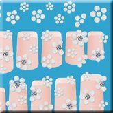 L.A. Colors 3D Nail Art Stickers #957 Rubberized Flowers w/Stone by L.A. COLORS. $5.24. EASY TO PUT ON. NICE 3-D DESIGN. STICK APPLICATION. Customize and create fabulous nail designs! Stickers adhere to nails without damaging nail polish. Easy to put on - easy to take off! Now you can have that salon inspired nail art for a fraction of the cost. With 8 styles to choose from, dress up your nails instantly!