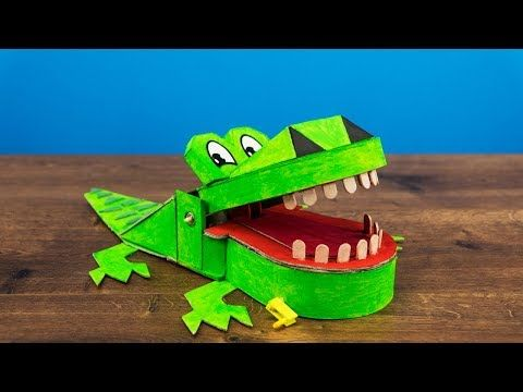 HOW TO MAKE CROCODILE DENTIST GAME FOR KIDS | DIY - YouTube