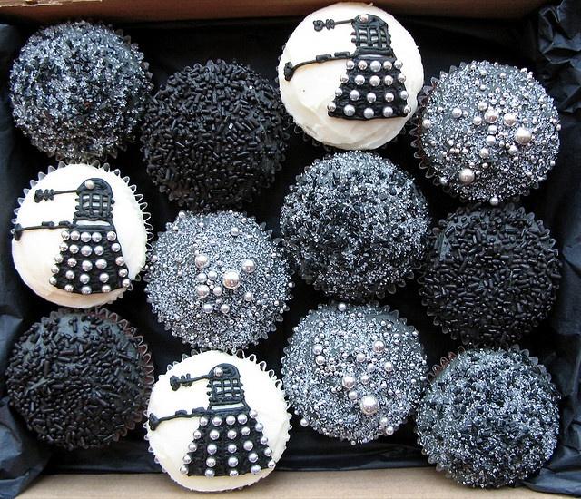 Dalek cakes :)