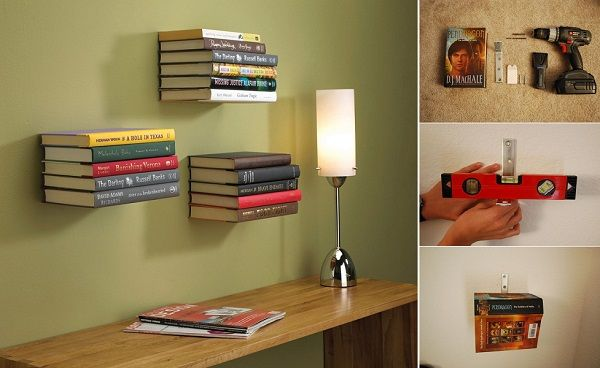 Best 25+ Invisible Bookshelf Ideas On Pinterest