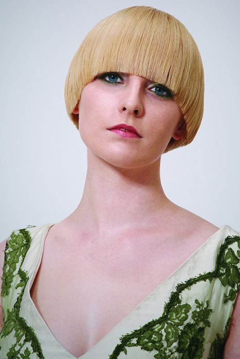 how to style a bowl cut