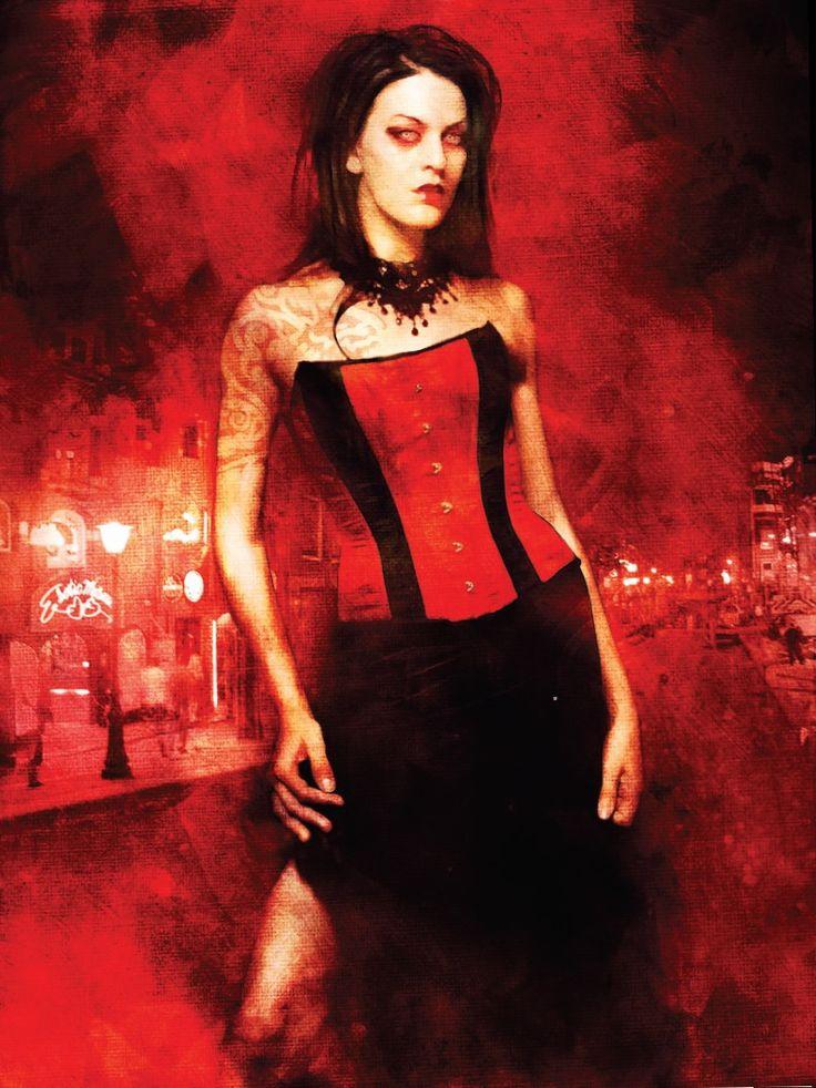"""""""Daeva: Kiss of the Succubus"""" Vampire: The Requiem, White Wolf"""