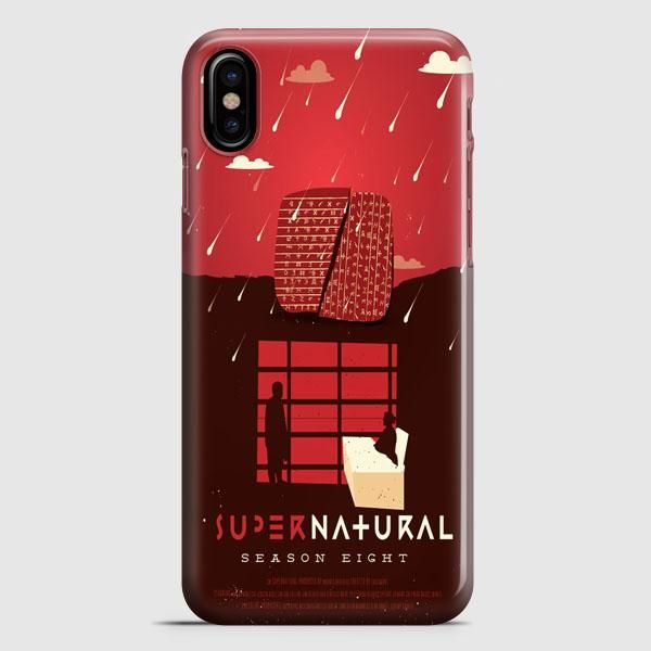 Supernatural Quote Collage iPhone X Case | casescraft