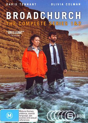 #Broadchurch: #series 1 - 2 #(2013) new dvd,  View more on the LINK: http://www.zeppy.io/product/gb/2/351700316609/