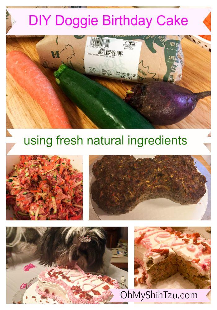 Dog Food Birthday Cake Recipe