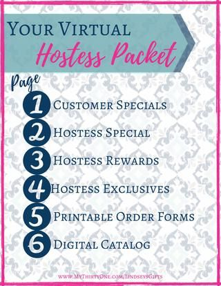 Virtual Hostess Packet - February - Thirty-One by Lindsey Carideo, Ind. Consultant at Thirty-One Gifts - issuu