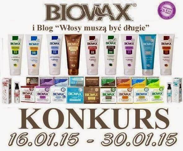 Włosy muszą być długie: KONKURS L'biotica BIOVAX : Do wygrania 2 zestawy kosmetyków do włosów