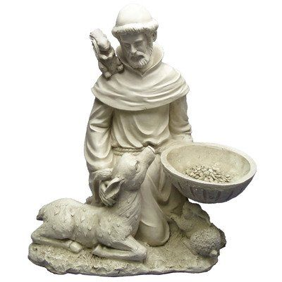 Special Offers - Design Toscano EU40076 Saint Francis Feeds The Animals Garden Statue - In stock & Free Shipping. You can save more money! Check It (March 28 2016 at 09:28PM) >> http://birdhouseusa.net/design-toscano-eu40076-saint-francis-feeds-the-animals-garden-statue/