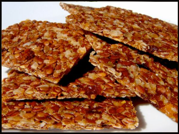 Mexican Flax Crackers