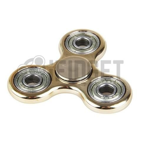 fidget spinner gold plating fidget toy stainless steel fun kids toy sale