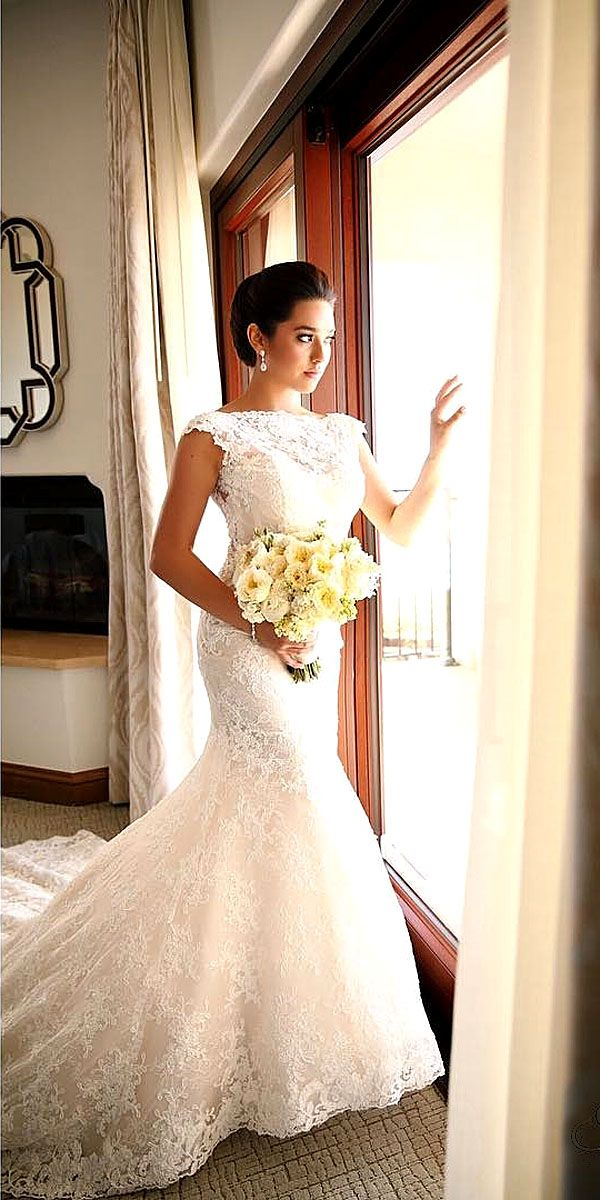 18 Real Brides In Ines Di Santo Wedding Dresses ❤ Ines Di Santo wedding dresses are for the bride who wants look simple and romantic yet totally luxuriously at the same time. See more: http://www.weddingforward.com/ines-di-santo-wedding-dresses/ #wedding #dresses