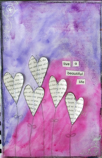 Live a beautiful life by Angela Churchill, via Flickr