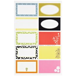 The Container Store > Round & Square Gift Labels