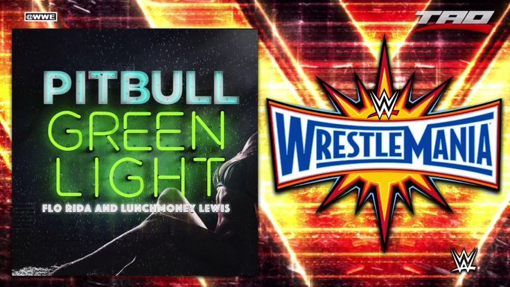 "WWE: WrestleMania 33 - ""Greenlight"" - 1st Official Theme Song - YouTube"
