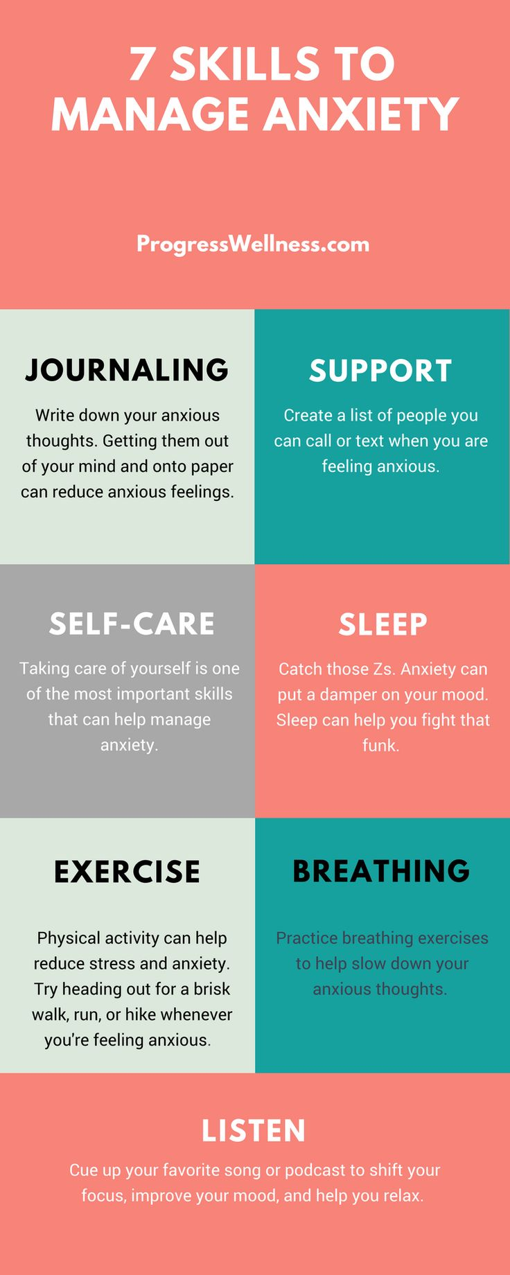 Managing stress, anxiety, and other fears can be difficult for any of us, but it doesn't have to. Practice these 7 simple tips to manage stress effectively. Click through to get even more stress management tips.