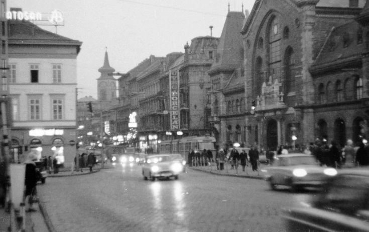 1973. Tolbuhin körút, a Nagycsarnok előtt