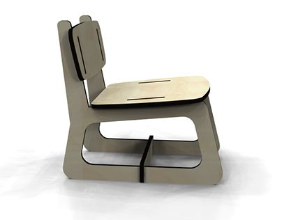 """Check out new work on my @Behance portfolio: """"FELICIA Armchair"""" http://on.be.net/1Gv1ET5"""