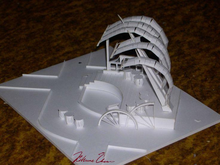 #макет #макетирование #поделки #бумага #поделкиизбумаги #эскиз #layout #DIY #paper #papercrafts #sketch