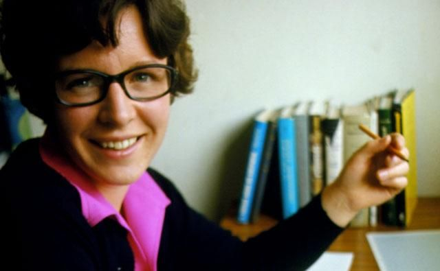 Jocelyn Bell Burnell - discovered pulsars.
