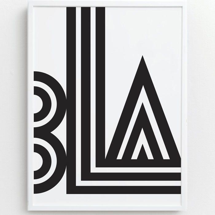Scandinavian Design, Small Talk Print by One Must Dash