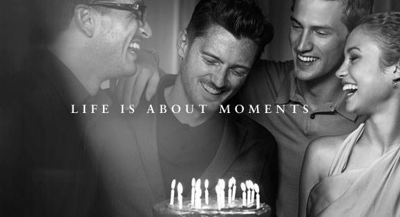 """Photographs are truly magical when they enable moments that cannot be seen with one's eyes to be captured"" - Peter Lindbergh.   We're proud to announce that Peter Lindbergh is the talented eye behind our beautiful new film. Watch it for the first time here. #celebratemoments"
