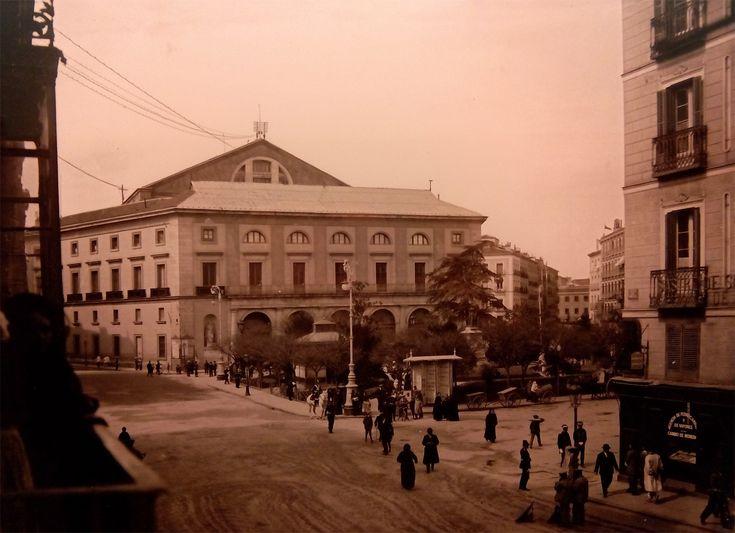 Teatro Real, 1930. Imágenes del viejo Madrid