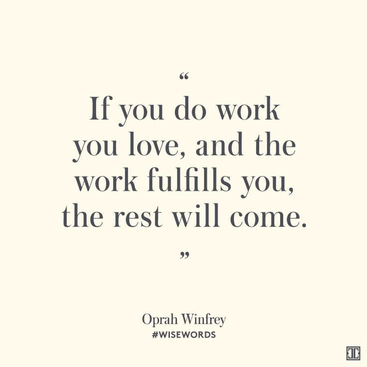 the work of oprah winfrey In honor of graduation season, cnbc make it is rolling out the speeches and pieces of advice that when oprah winfrey was winfrey used intention at work.
