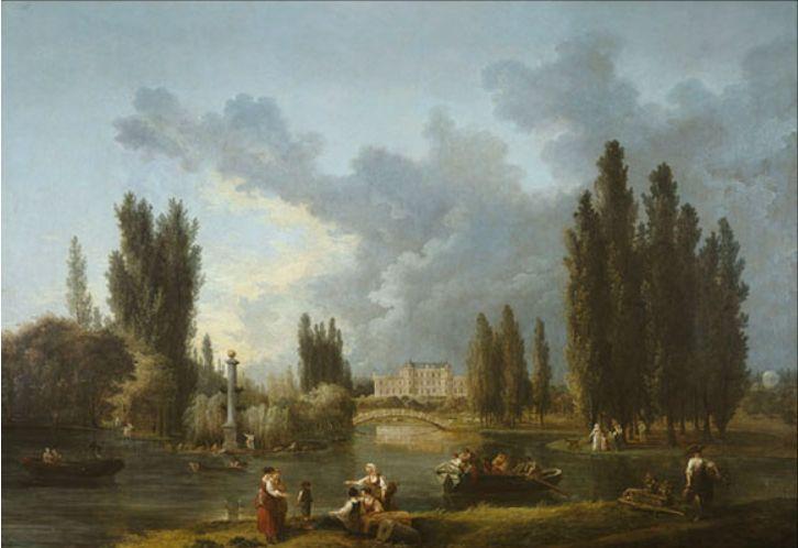 Hubert Robert Parc de Mereville Sceaux